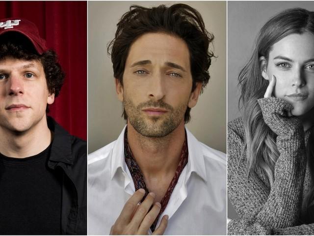 Jesse Eisenberg, Adrien Brody, Riley Keough to Star in Thriller 'Manodrome'