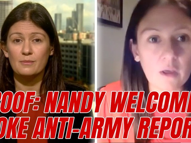 """WATCH: Video Proof Nandy did Welcome Report Calling for """"Peace Force"""" to Replace Army"""