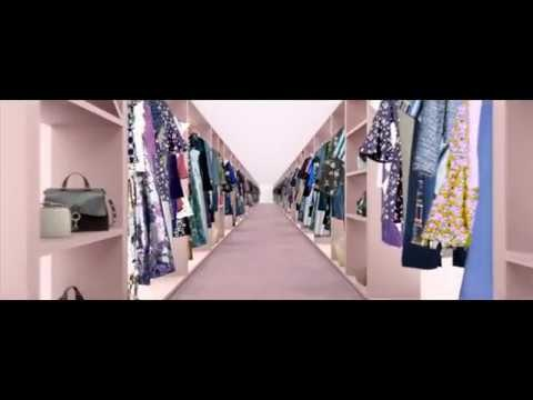 Clothing Rental Commercials - Rent the Runway's First Ad Transforms Closets into Personal Spaces (TrendHunter.com)