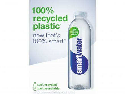 Recycled Water Packaging Campaigns - This New Glacéau Smartwater Campaign Highlights Sustainability (TrendHunter.com)
