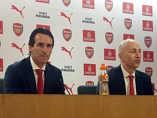 Unai Emery showed him 'analysis of all our players' in Arsenal interview