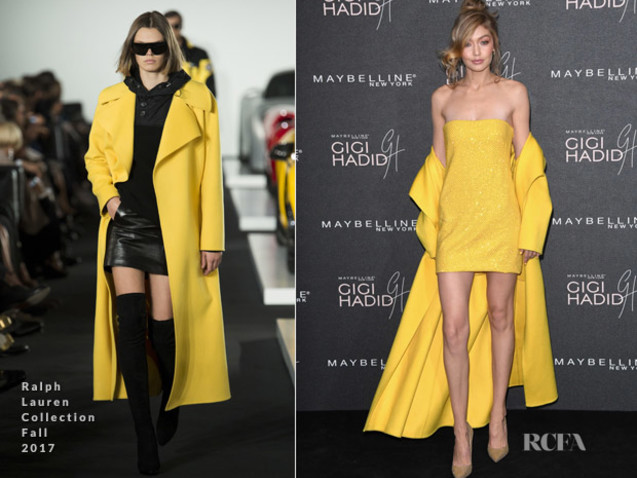 Gigi Hadid In Ralph Lauren Collection – Gigi Hadid X Maybelline Party