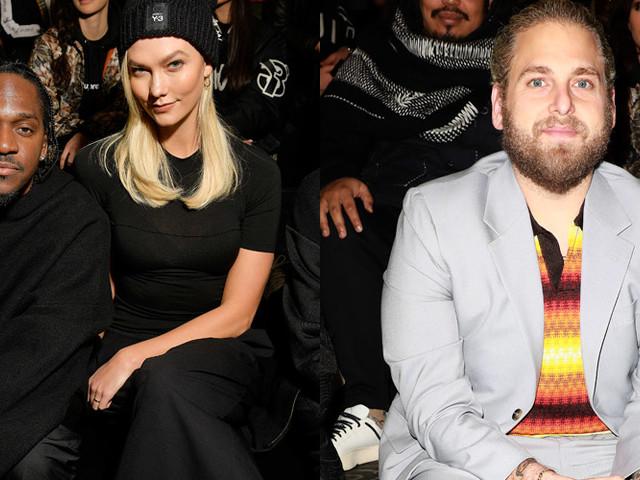 Pusha T, Karlie Kloss & Jonah Hill Attend Y-3 Show During Paris Fashion Week