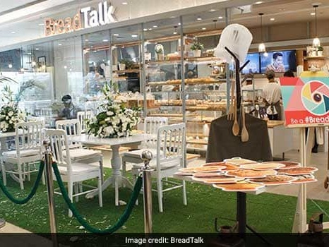 BreadTalk Group Launches Their First Bakery-Caf Breadtalk In Delhi