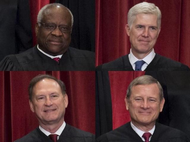Supreme Court Breakfast Table