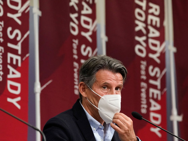 """Coe claims athletes do not want to """"sit out the dance"""" as Tokyo 2020 holds test event"""