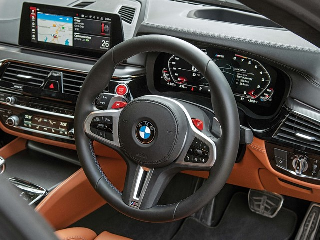 Review: BMW M5 Competition review, test drive