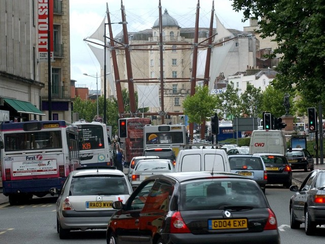Bristol City Council bosses proposing UK's first diesel vehicle ban spent £2.7m on fleet of motors INCLUDING diesels