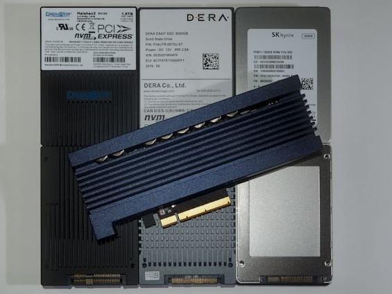 Enterprise NVMe Round-Up 2: SK Hynix, Samsung, Dapustor and DERA