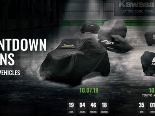 Kawasaki Teases Supercharged 'Z Series' Motorcycle