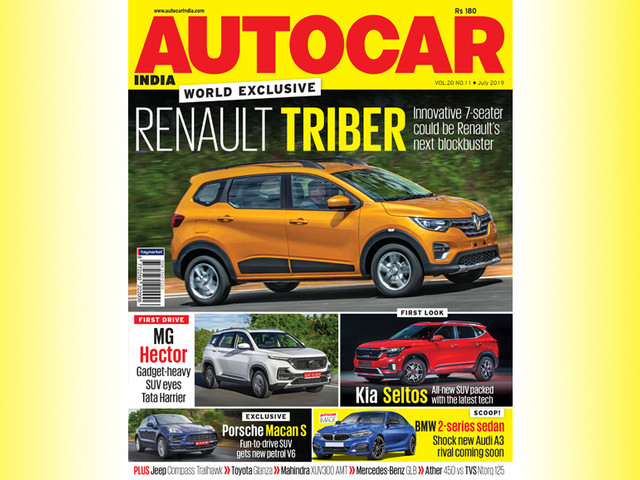 Autocar India July 2019 issue out on stands!