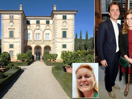 Is Sarah Ferguson already scouting wedding venues for Princess Beatrice?