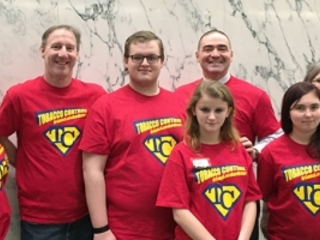 NHS Reality Check youths detail Legislative Day in Albany