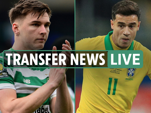 1pm transfer news LIVE: Coutinho loan to Liverpool, Arsenal Tierney bid rejected, Man Utd's Maguire bid LATEST
