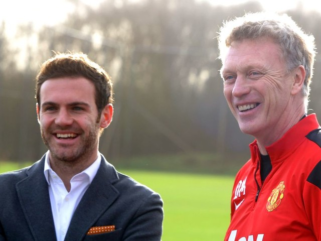 What happened to the three players signed by David Moyes at Man United