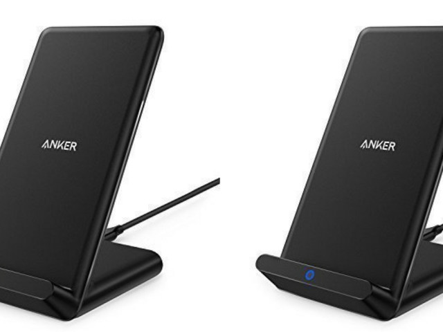 Save on a wireless charger that doubles as a smartphone stand