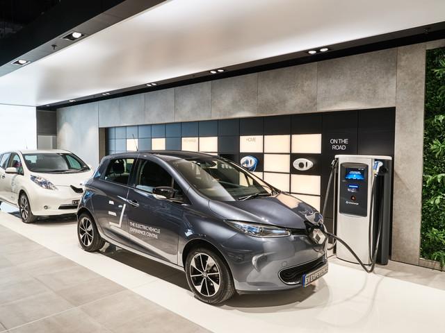 First all-EV car showroom opens in Milton Keynes