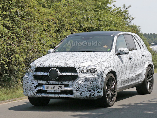 Mercedes-AMG GLE 63 With New 4.0L V8 Spied Testing