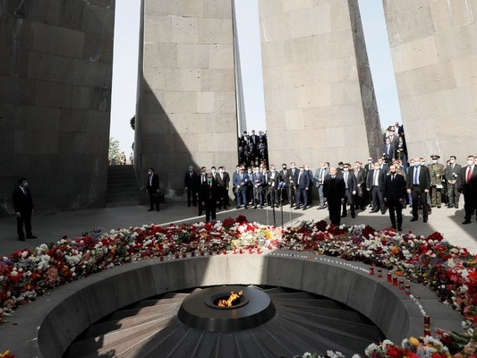 US President Biden recognises atrocities against Armenians as genocide