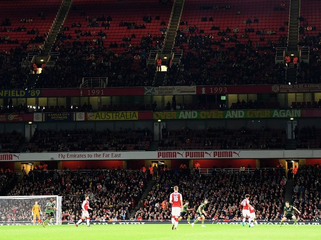 Arsenal record lowest ever Emirates Stadium attendance for Doncaster Carabao Cup clash