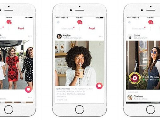 Tinder feed shows recent activity of your potential dates