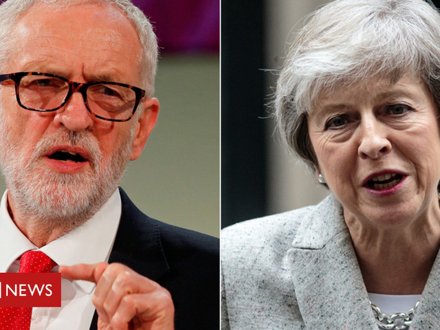 Brexit: Corbyn will do BBC debate with May if head-to-head