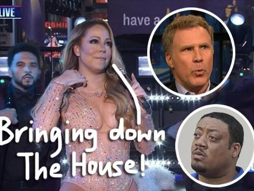 Mariah Carey 'Ruined' Her Movie Cameo With Her 'Borderline Abusive' Behavior! Let Will Ferrell & Cedric Yarbrough Explain!