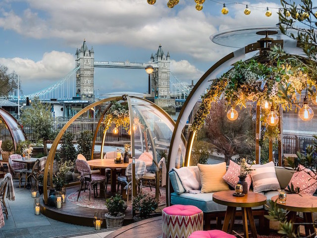 Where To Dine And Drink In An Igloo Or Snow Globe In London This Winter