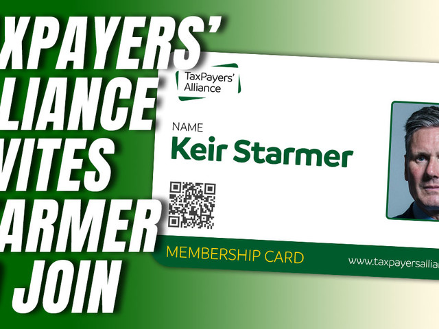 Taxpayers' Alliance Invites Starmer to Join