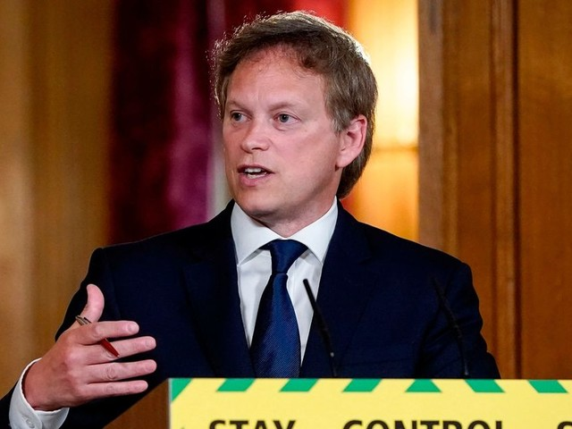 UK coronavirus death toll rises by 282 to 36,675, Grant Shapps announces