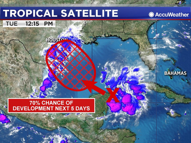 TROPICAL UPDATE: Tropical depression could form in Gulf Thursday or Friday, Florence threatens East Coast