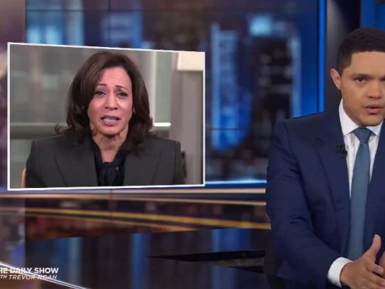 Trevor Noah Unpacks the Plot 'Twist' of Kamala Harris Dropping Out of Democratic Primary (Video)