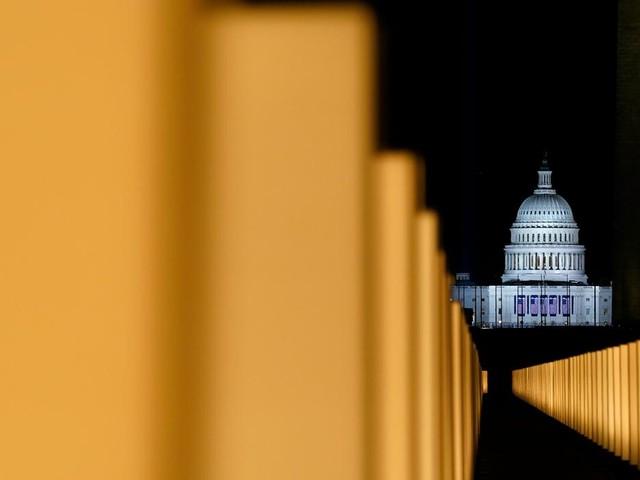 Joe Biden remembers victims of coronavirus on eve of inauguration