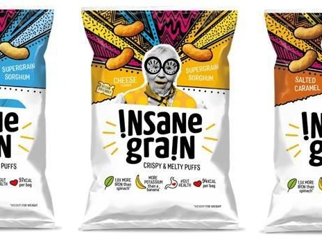 Puffed Supergrain Snacks - The Insane Grain Snacks are Flavorful and Rich in Nutrients (TrendHunter.com)