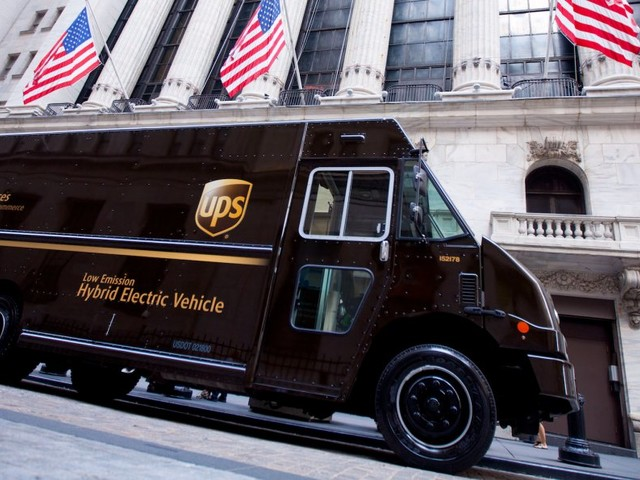 UPS faces delays with surge of holiday packages (UPS)
