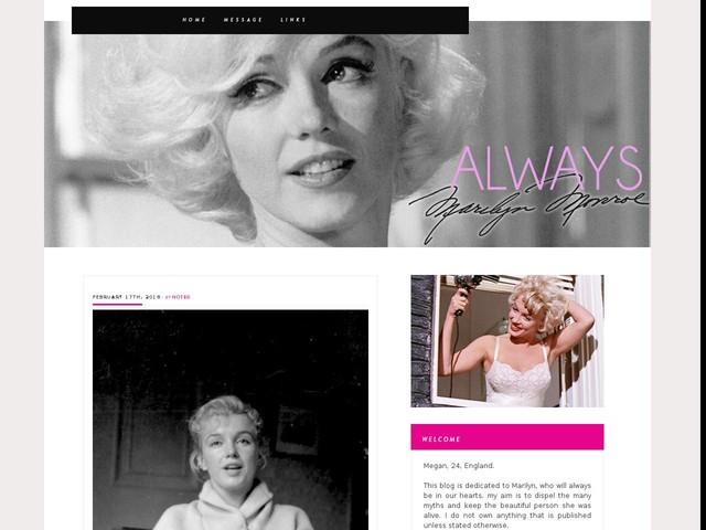 Marilyn in 1957.