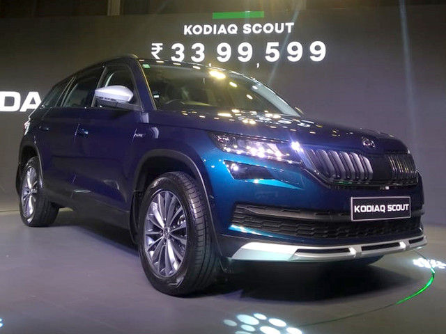 Skoda Kodiaq Scout launched at Rs 33.99 lakh