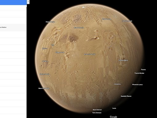 Google Maps now lets you go to space