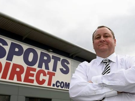 Profits plunge at Mike Ashley's Sports Direct
