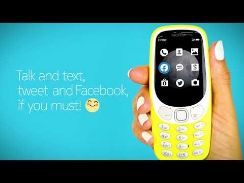 Retro is cool: Basic Nokia 3310 3G launches in the US for $59.99