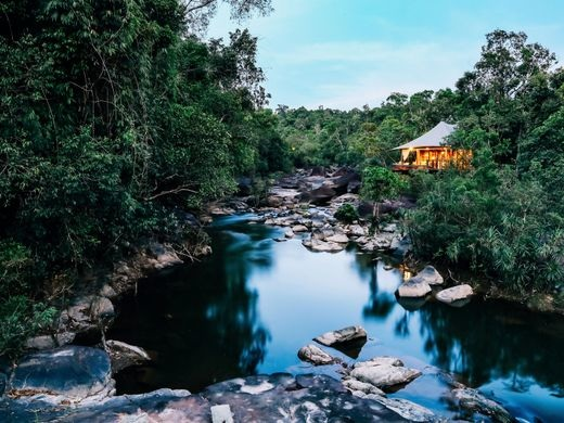 Luxury Tented Camp, Shinta Mani Wild – Bensley Collection, in Cambodian Jungle