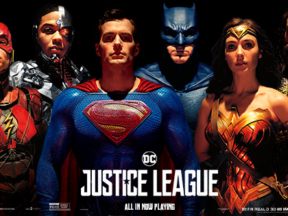 New 'Justice League' Posters Add Mustache-Less Superman to the Team