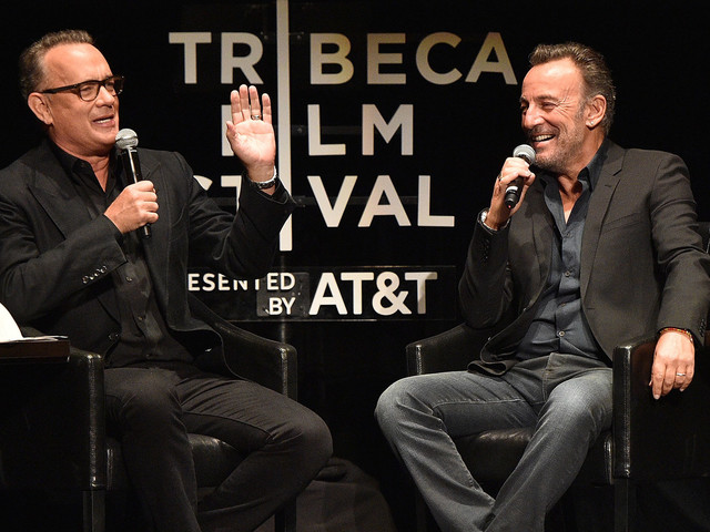 If You're Looking For A Good Time, Just Watch Tom Hanks & Bruce Springsteen Talk About Life