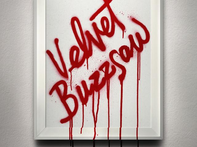 Velvet Buzzsaw new poster belongs in a gallery