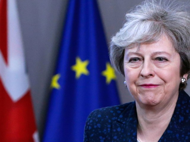 May 'continuing with Plan A' despite Brexit defeat