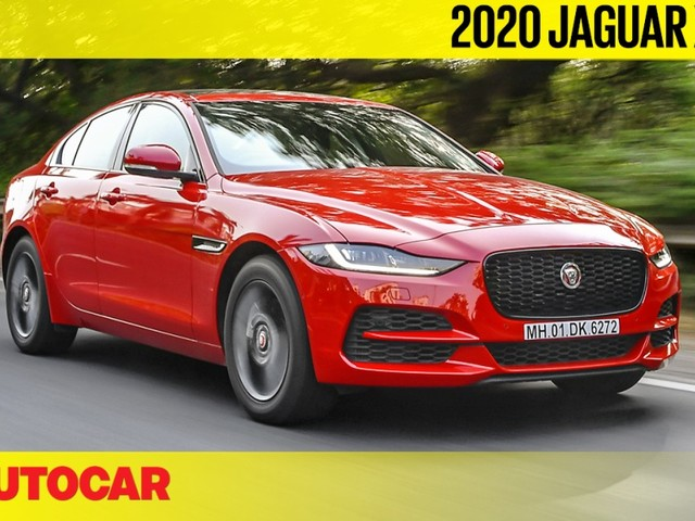 Review: Jaguar XE facelift India video review