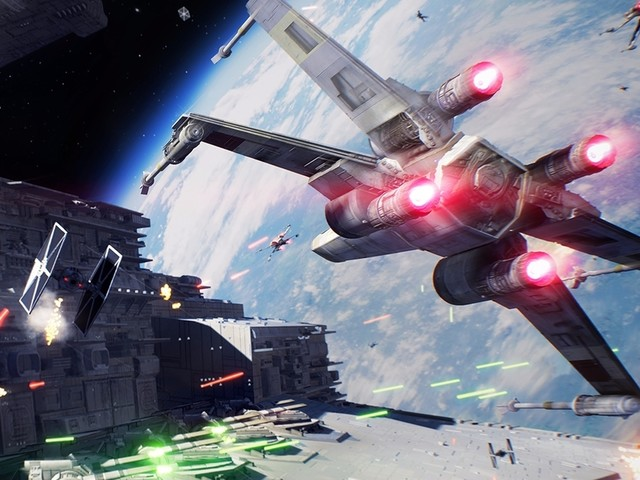 Star Wars Battlefront 2 reveals first footage of space battles