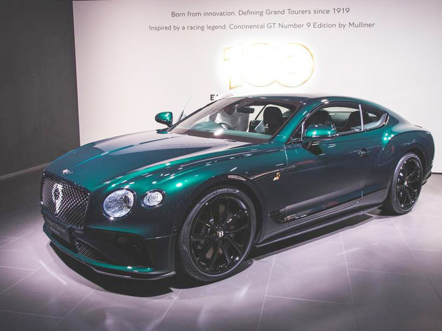 Bentley Continental GT Number 9 Edition revealed at Geneva