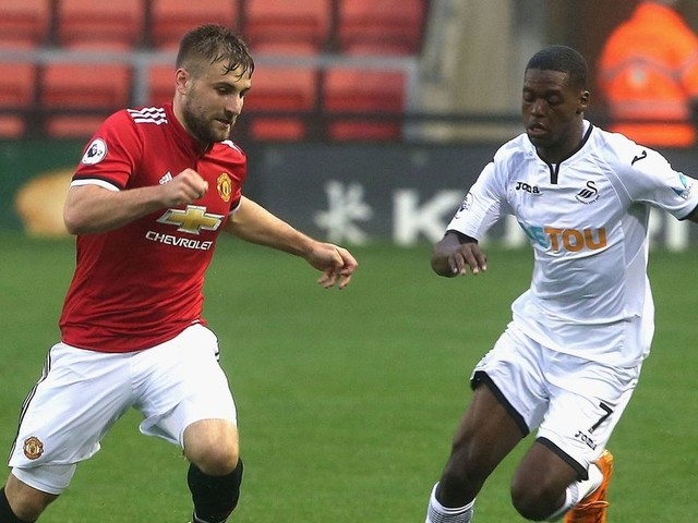 Luke Shaw and Ashley Young return to action as Manchester United's U23s draw 1-1 with Swansea