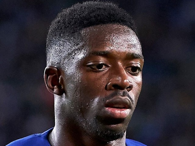 Barcelona star Ousmane Dembele WILL miss El Clasico after two-game ban confirmed for red card